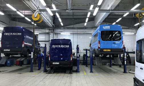обслуживание ford transit